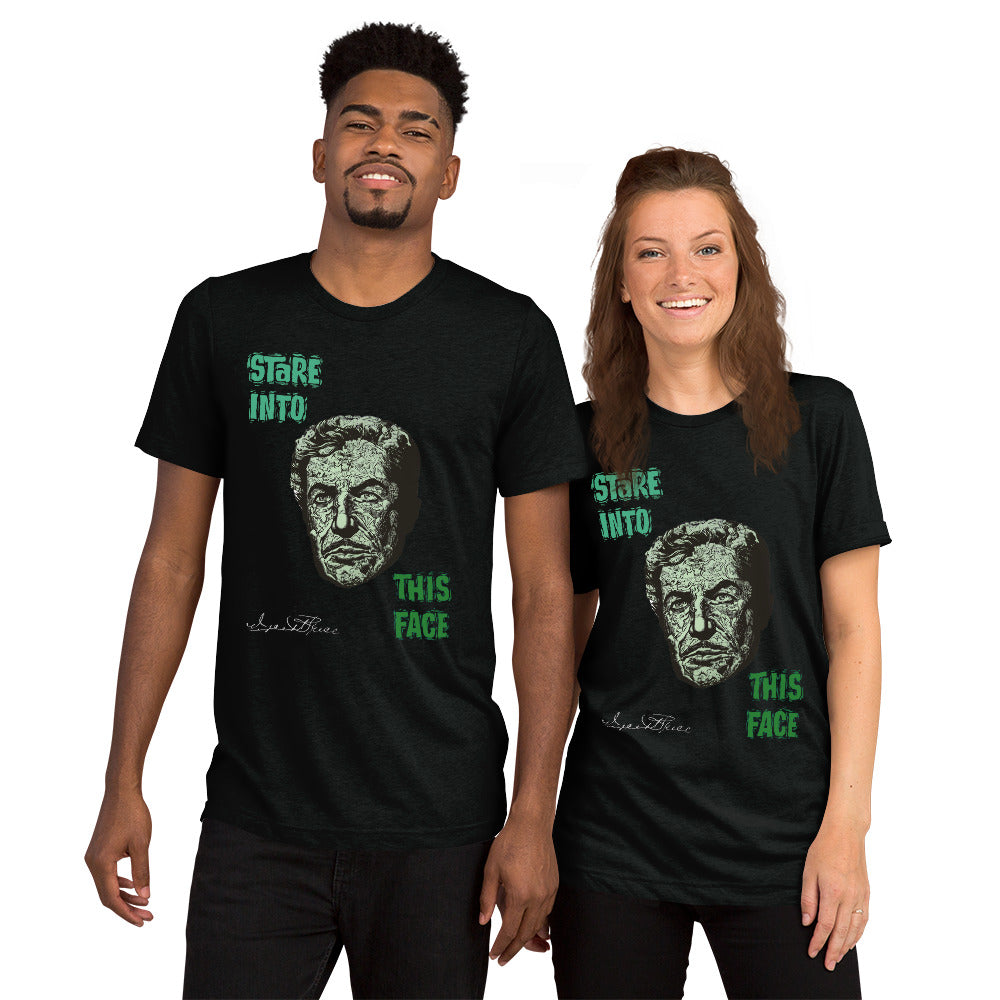Limited Edition TShirt: Green Stare Into This Face