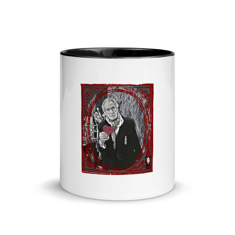 Valentine Vincent Mug with Color Inside (Red or Black)