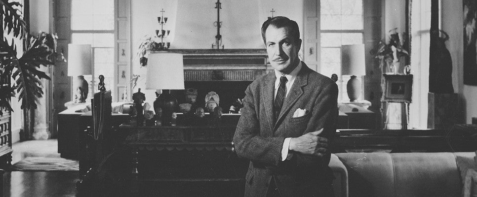 Vincent Price Father of Horror