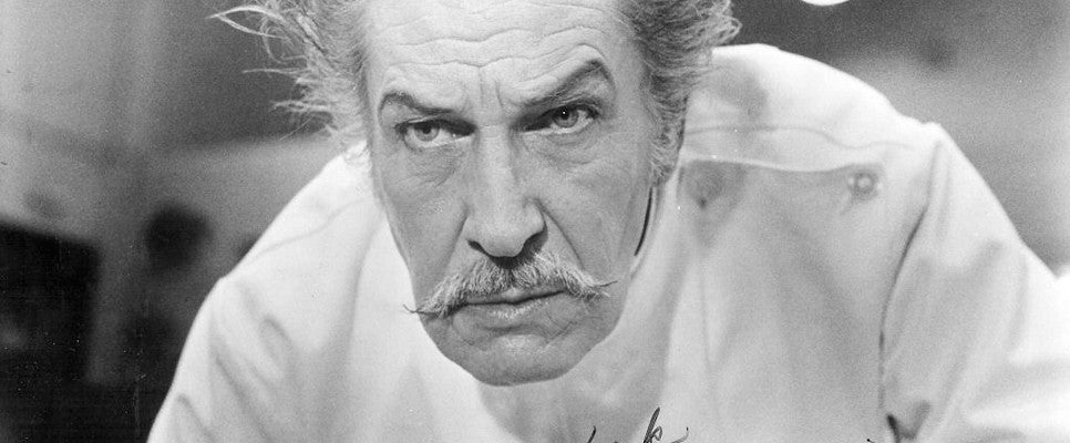 Horror Film and Motion Picture Star Vincent Price