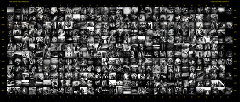 The Year 2016 collage by Paul Crowley 366 days of photography
