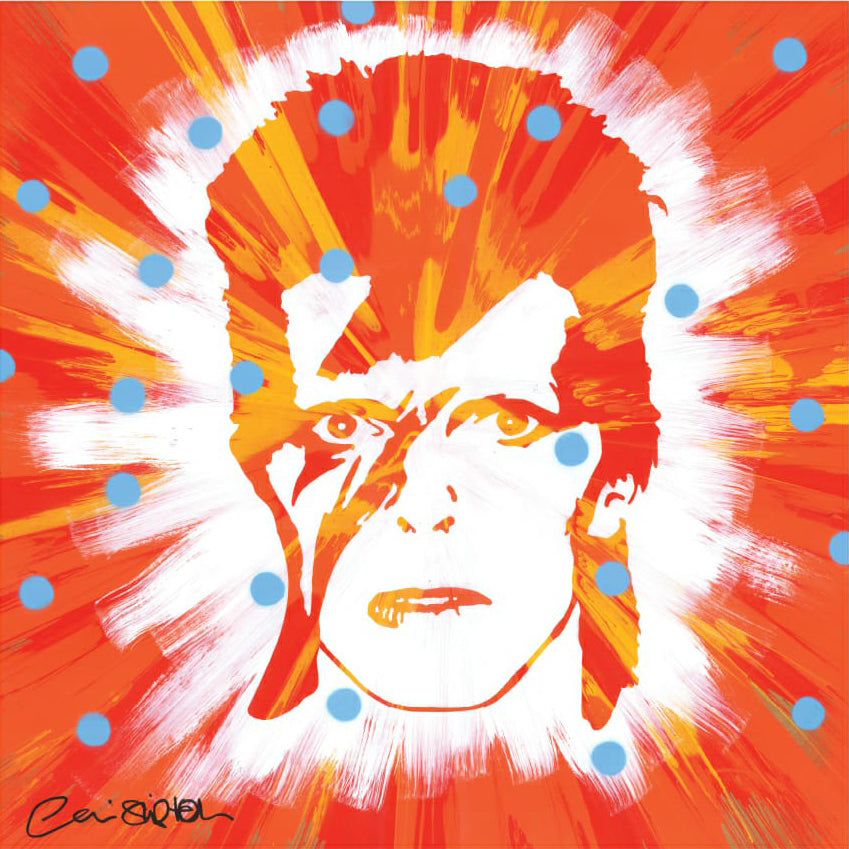 David Bowie Ceri Shipton Original Artwork