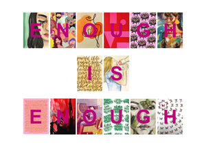 Enough is Enough Postcard