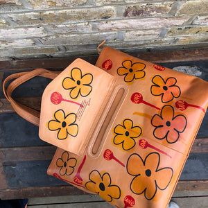 Oak Tote 'Love Life' by Nick Shipton & Rufus Country