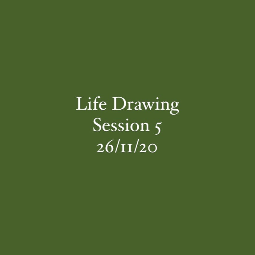 Life Drawing Session 5