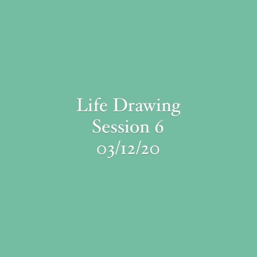 Life Drawing Session 6
