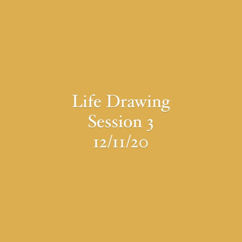Life Drawing Session 3