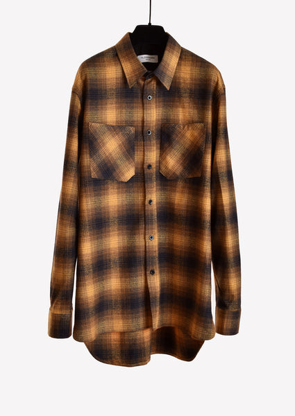 Trucker Flannel in Almond
