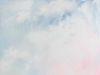 Cotton Candy Clouds Art Print