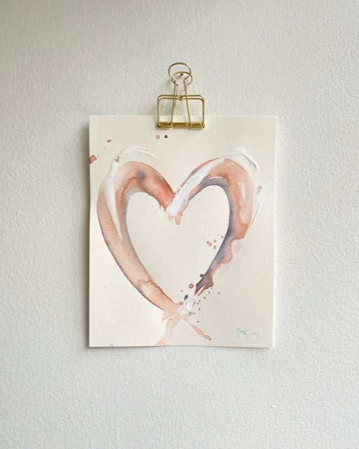 Painted Heart 10