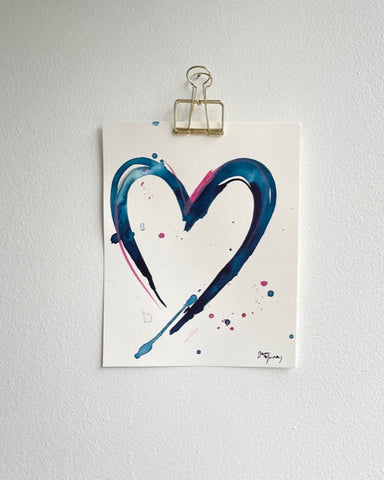 Painted Heart 5