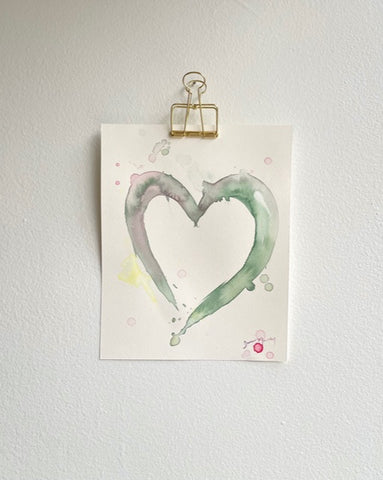 Painted Heart 8