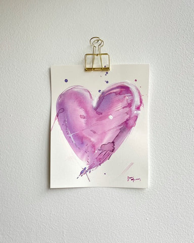 Painted Heart 9