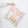 Vermillion Peonies 2 Throw Pillow