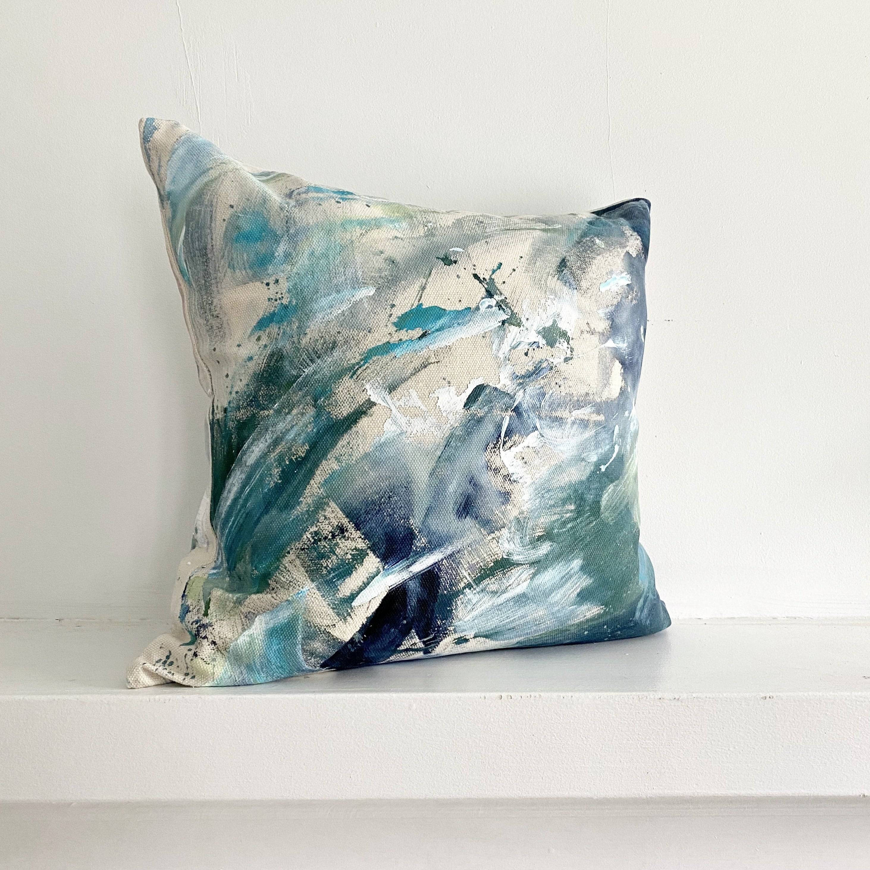 Painted Pillow 1