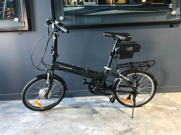 Nomad Electric Folding Bike 36v 250w electric bike Black