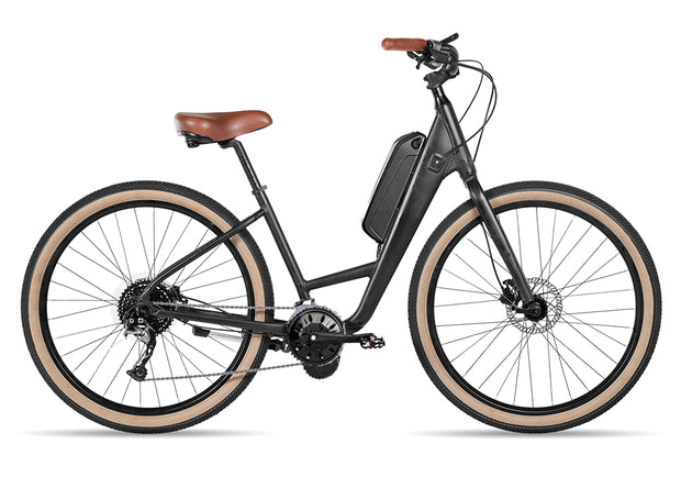 Scene 1 Retro Step Through 250w Hybrid Electric Bike