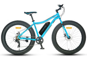 Cracker Fat Tyre 36V 250W Electric Bike - Blue