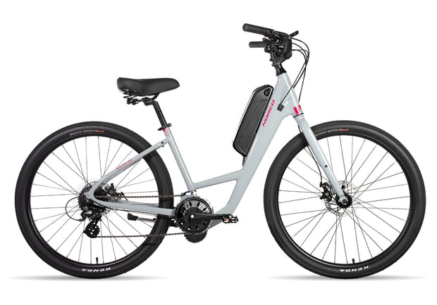 Scene 3 Step Through 250w Electric Bike Grey