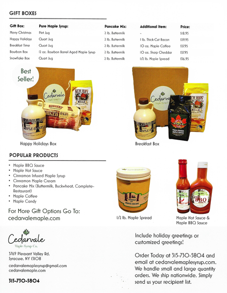 Corporate Gift Options and Details