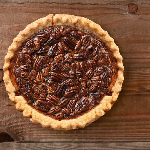 Delicious Holiday Maple Pecan Pie Recipe. Perfect for every event this holiday season.