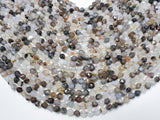 Agate Beads, 6mm Star Cut Faceted Round, 14 Inch-BeadXpert