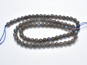 Labradorite Beads, 4.8mm Round Beads-BeadXpert