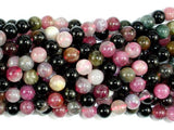 Watermelon Tourmaline Beads, 6mm Round Beads-BeadXpert