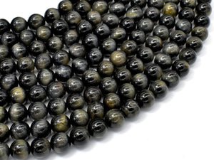 Blue Tiger Eye, 8mm Round Beads-BeadXpert