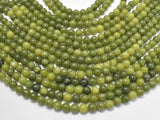 Canadian Jade Beads, 6mm Round Beads-BeadXpert