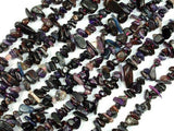Sugilite Beads, Genuine Sugilite, 4mm-8mm Chips Beads, 15.5 Inch