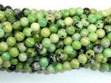 Chrysoprase Beads, 6mm Round Beads-BeadXpert
