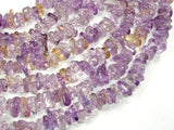 Ametrine, Approx 4mm-10mm Pebble Chips Beads, 16 Inch-BeadXpert