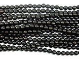 Black Sandalwood Beads, 8mm (8.5mm) Round Beads-BeadXpert