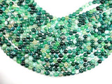 Banded Agate Beads, Green, 8mm(8.3mm)-BeadXpert
