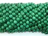 Natural Malachite Beads, 5mm Green Round Beads-BeadXpert