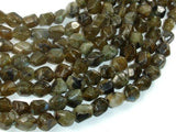 Labradorite Beads, 8x10mm Faceted Nugget Beads-BeadXpert