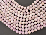 Kunzite Beads, 11mm Round Beads-BeadXpert