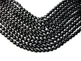 Black Onyx Beads, Faceted Round, 10mm-BeadXpert