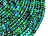Chrysocolla , 6mm Round Beads-BeadXpert