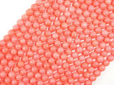 Pink Coral Beads, Angel Skin Coral, 6mm Round Beads-BeadXpert