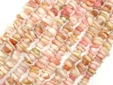 Pink Opal beads, Pebble Chips-BeadXpert