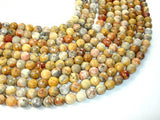 Crazy Lace Agate Beads, Faceted Round, 10mm-BeadXpert