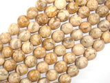 Feldspath Beads, Tiger Jasper Beads, Round, 12mm-BeadXpert