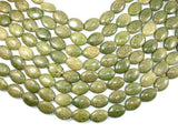 Green Chalcopyrite Beads, 13 x 18 mm Oval Beads-BeadXpert