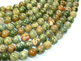 Rhyolite Beads, 8mm(8.5mm) Round Beads-BeadXpert