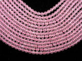 Rose Quartz, 6mm Faceted Round Beads-BeadXpert