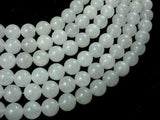White Jade, 12mm Round Beads-BeadXpert