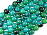 Chrysocolla, 12mm Round Beads-BeadXpert