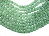 Matte Green Aventurine Beads, 10mm Round Beads-BeadXpert